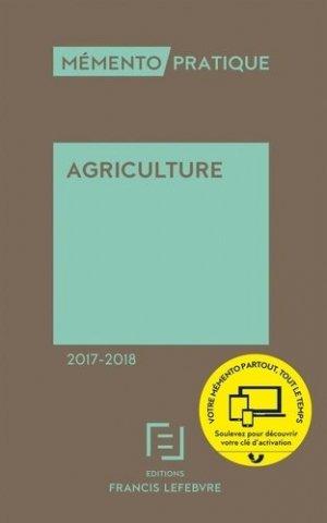 Agriculture 2017-2018-francis lefebvre-9782368932063