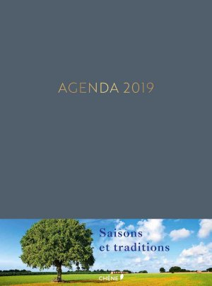 Agenda 2019 Saisons et traditions-du chene-9782812318979