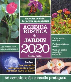 Agenda Rustica du jardin 2020 - rustica - 9782815313513