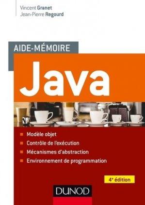 Aide-mémoire - Java - dunod - 9782100727131