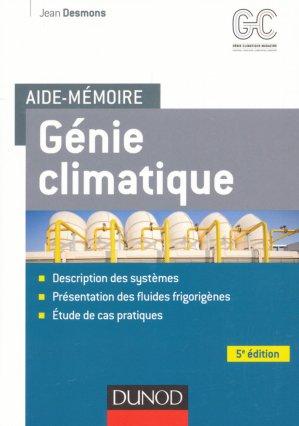 Aide-mémoire - Génie climatique-dunod-9782100762255