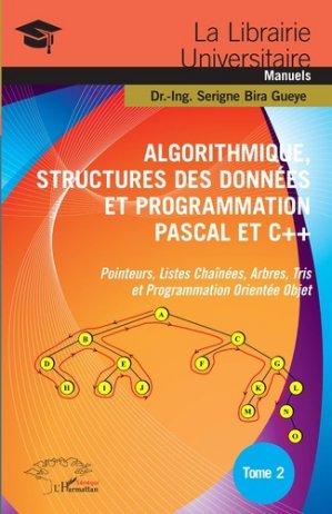 Algorithmique, Structures des Données et Programmation Pascal et C+ -l'harmattan-9782343171906