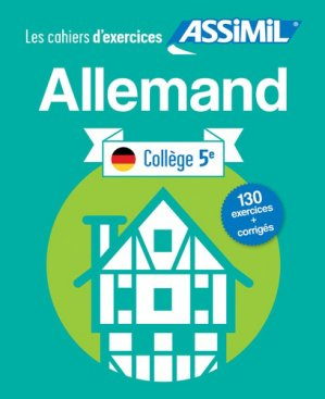 Les Cahiers d'Exercices Allemand-assimil-9782700508000