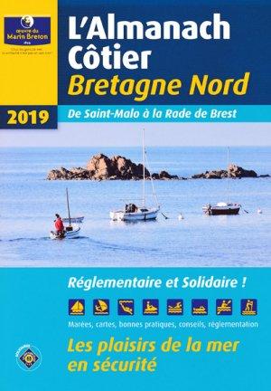 Almanach côtier Bretagne Nord 2019-oeuvres du marin breton-9782902855582