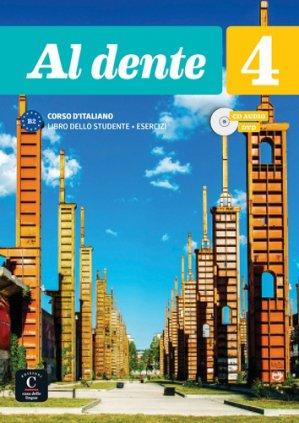 Al dente 4 avec 1 DVD + 1 CD audio-maison des langues-9788416943739