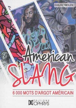 AMERICAN SLANG -OPHRYS-9782708014572