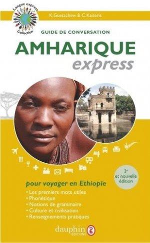 Amharique express - dauphin - 9782716316910