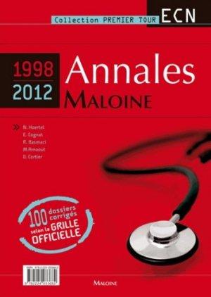 Annales Maloine Internat ECN (1998-2012). 3 volumes-maloine-9782224033682