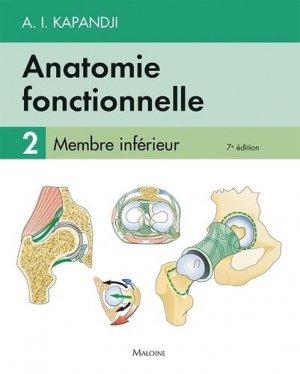 Anatomie fonctionnelle 2 - maloine - 9782224034955
