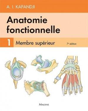 Anatomie fonctionnelle 1 - maloine - 9782224035419