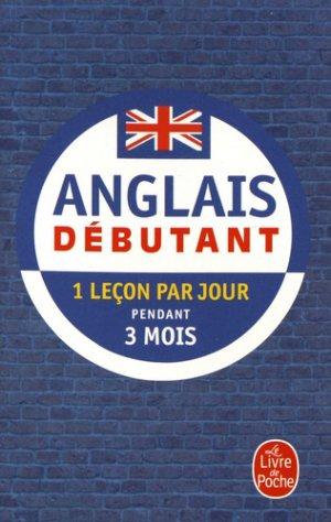 Anglais Débutant-le livre de poche-9782253184546