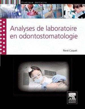 Analyses de laboratoire en odontostomatologie-elsevier / masson-9782294714870