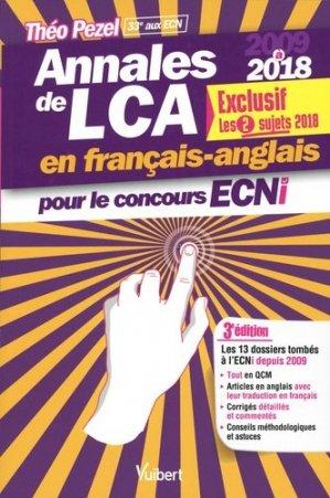Annales de LCA en français-anglais pour le concours ECNi - vuibert - 9782311661125