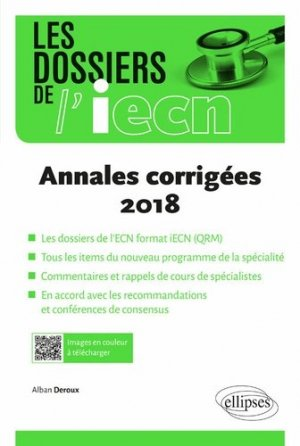 Annales corrigées 2018-ellipses-9782340029927