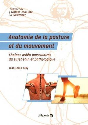 Anatomie de la posture et du mouvement-de boeck superieur-9782353273904