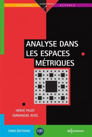 Analyse dans les espaces métriques-edp sciences-9782759822560