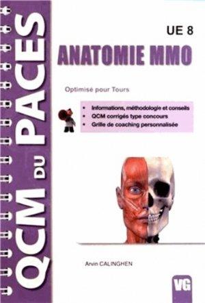 Anatomie MMO  UE8 (Tours)-vernazobres grego-9782818306727