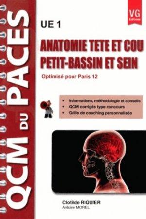 Anatomie tête et cou - Petit-bassin et sein ( Paris 12 ) U1-vernazobres grego-9782818308967
