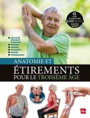 Anatomie et étirements pour le troisième âge - la plage - 9782842217259