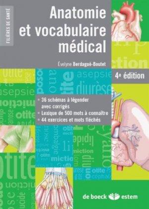 Anatomie et vocabulaire médical-estem-9782843716966