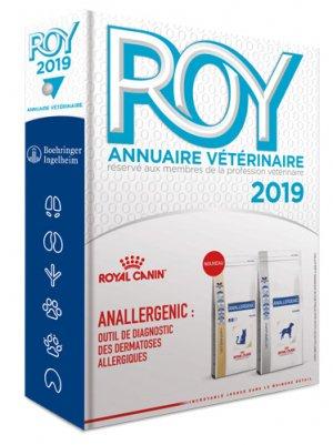 Annuaire vétérinaire Roy - du point veterinaire - 9782863263815