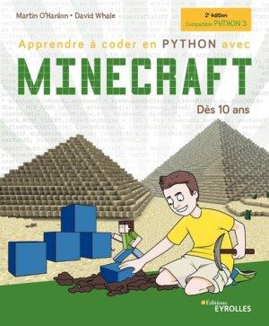 Apprendre à coder en Python avec Minecraft-eyrolles-9782212677218