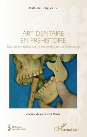 Art dentaire en préhistoire-l'harmattan-9782343133515