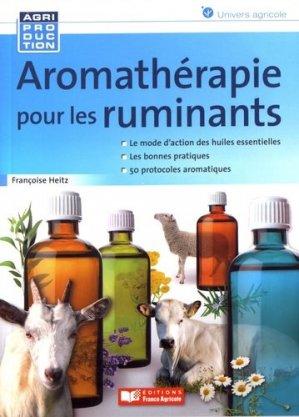 Aromathérapie pour les ruminants-france agricole-9782855574882
