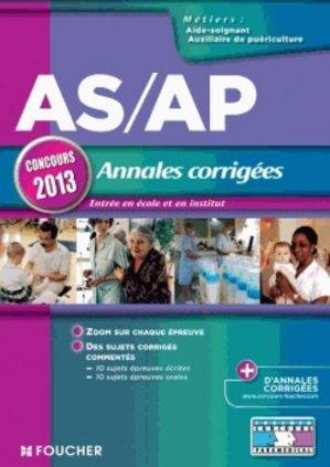 AS/AP Annales corrigées-foucher-9782216122462