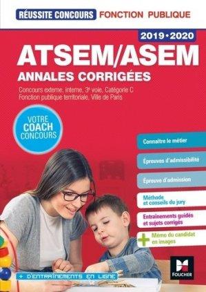 ATSEM-ASEM annales corrigées - 2019-2020-foucher-9782216154166