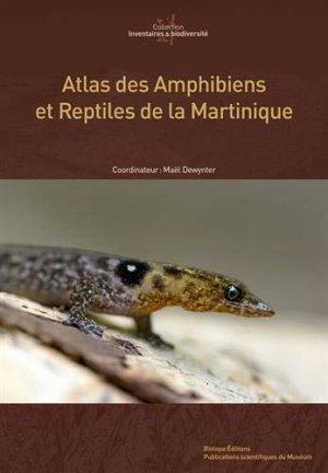 Atlas des amphibiens et reptiles de Martinique-biotope-9782856538005