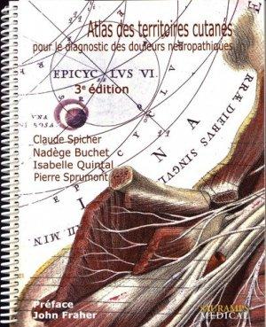 Atlas des territoires cutanés du corps humain-sauramps medical-9791030300925