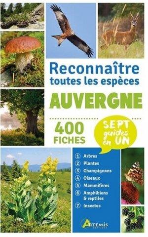 Auvergne: Reconnaître toutes les espèces-Artémis-9782816015355