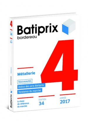 Batiprix 2017 Volume 4-groupe moniteur-9782281141146