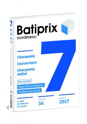 Batiprix 2017 Volume 7-groupe moniteur-9782281141177