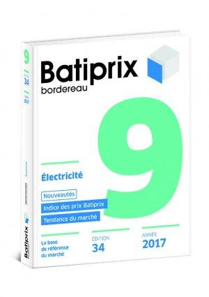 Batiprix 2017 Volume 9-groupe moniteur-9782281141191
