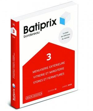 Batiprix 2018 Volume 3-groupe moniteur-9782281141757
