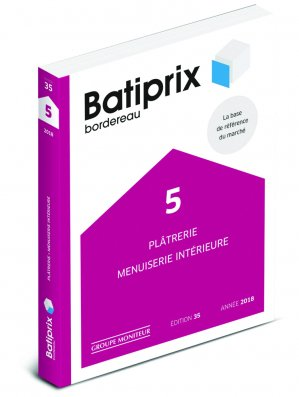 Batiprix 2018 Volume 5-groupe moniteur-9782281141771