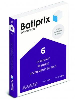 Batiprix 2018 Volume 6-groupe moniteur-9782281141788