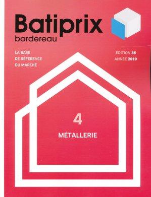 Batiprix 2019 Volume 4-groupe moniteur-9782281142327