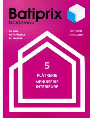 Batiprix 2019 Volume 5-groupe moniteur-9782281142334
