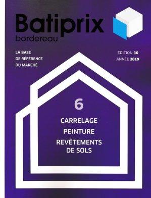 Batiprix 2019 Volume 6-groupe moniteur-9782281142341