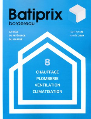 Batiprix 2019  Volume 8 - groupe moniteur - 9782281142365