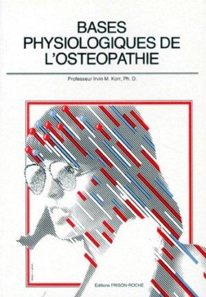 Bases Physiologiques de l'Ostéopathie-frison roche-9782876711457