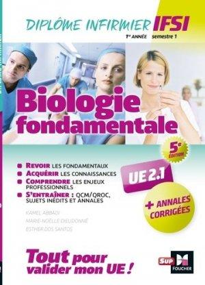 Biologie fondamentale UE 2.1 - Semestre 1-foucher-9782216149131