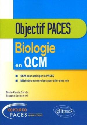 Biologie en QCM-ellipses-9782340021051