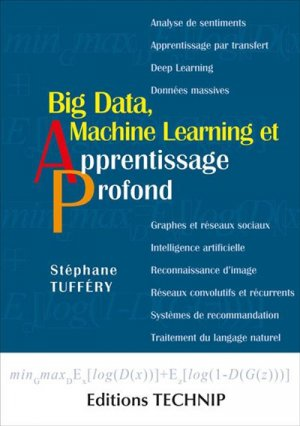 Big data, machine learning et apprentissage profond-technip-9782710811886