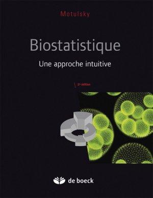 Biostatistique - de boeck superieur - 9782804163761