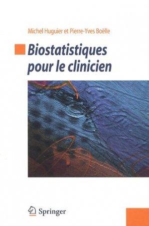 Biostatistiques pour le clinicien - springer - 9782817804637