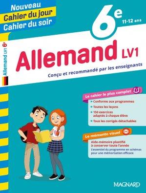 Cahier du jour/Cahier du soir Allemand 6e-magnard-9722810762435